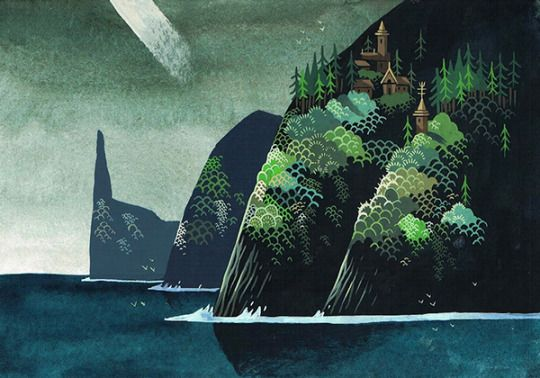 Islands by Yvan Duque. Artists on tumblr