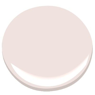 First Light 2102-70 A pale gray undertone makes this subtle pink almost neutral.10 Romantic Tranquil Pink Paint Colors & Pretty Finds! #paintcolors #pinkpaint #interiordesign