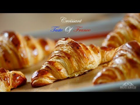 Croissant Taste Of France Bruno Albouze Youtube Homemade Croissants Croissant French Dishes