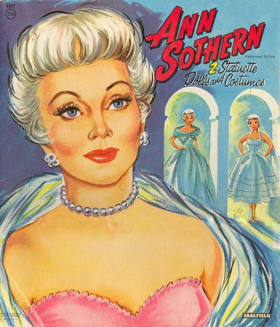 Ann Southern 1956 Saalfield #4407 c - Bobe - Álbumes web de Picasa