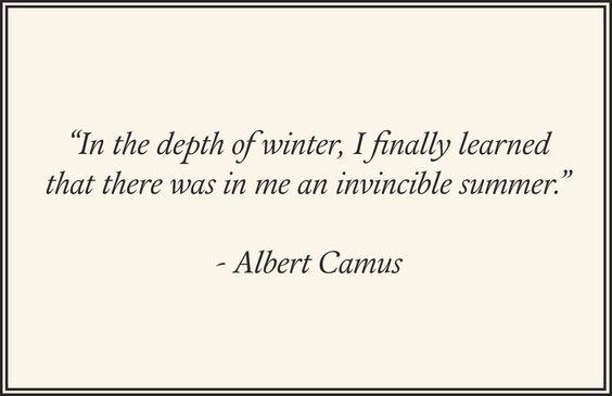#winter #camus #winterquotes