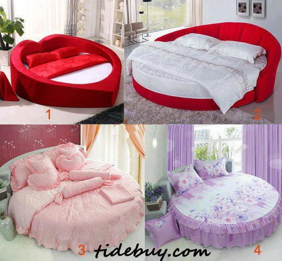 oval beds.. why not?? they look great!