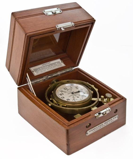 Hamilton WWII US Navy Model 22 Chronometer