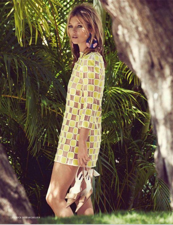 UK Vogue : Sail Away Starring Kate Moss | Trendland: Fashion Blog & Trend Magazine