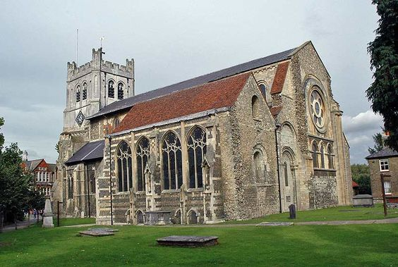 Waltham Abbey-EXCERPT: 'In March 1540, Waltham became the last abbey to be closed down by Henry VIII.  Interestingly, the abbey organist at the time was Thomas Tallis (c1505 - 1585) who is now considered the father of English cathedral music.'