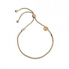 Azendi - Gold pretty adjustable bracelet