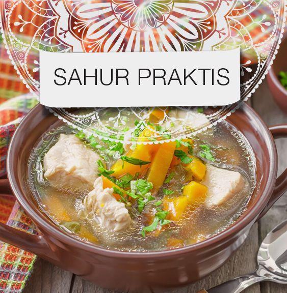 Sajian Sahur Praktis Resep Masakan