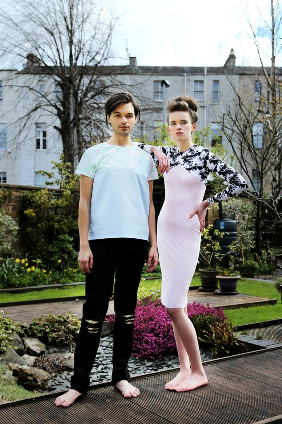 Grand Canyons Pocket Tee £40 Grand Canyons Midi £50  Models: Matthias McGregor and Nikki Vance from Superior Photographer: Daniela Flores MUA: Heather Snowie Hair: Heather Nelson