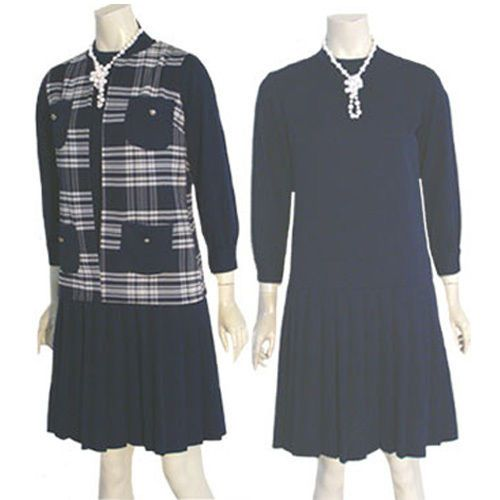 1960s Cay Artley  Vintage Mod Twiggy Dress & Vest  #CayArtley
