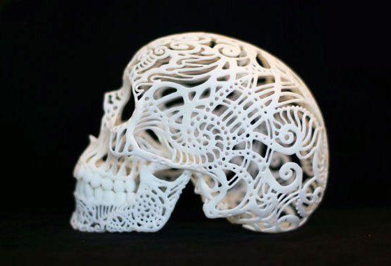 Skulls, a post by Not Martha on Design Crush