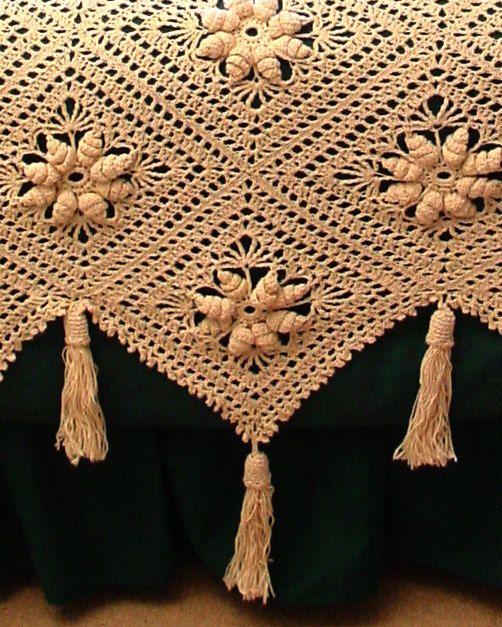 Fioriture couvre-lit Crochet Pattern PDF par Maggiescrochet sur Etsy
