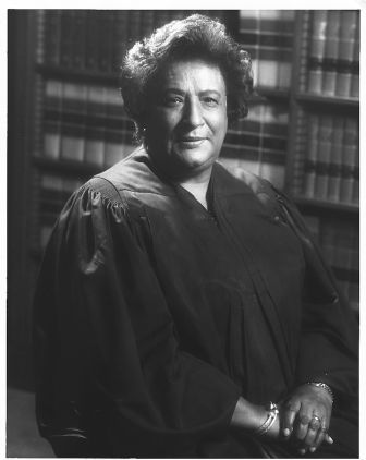 Constance Baker Motley (September 14, 1921 - September 28, 2005) won 9 out of 10 cases she argued before the Supreme Court, including one that admitted James Meredith to Ole Miss. She was the first black woman admitted to Columbia Law School, to become a federal judge, and to be elected to the New York State Senate. She began her career as a clerk at the NAACP Legal Defense Fund under Thurgood Marshall where she wrote the original complaint in Brown v Board of Education. #TodayInBlackHistory