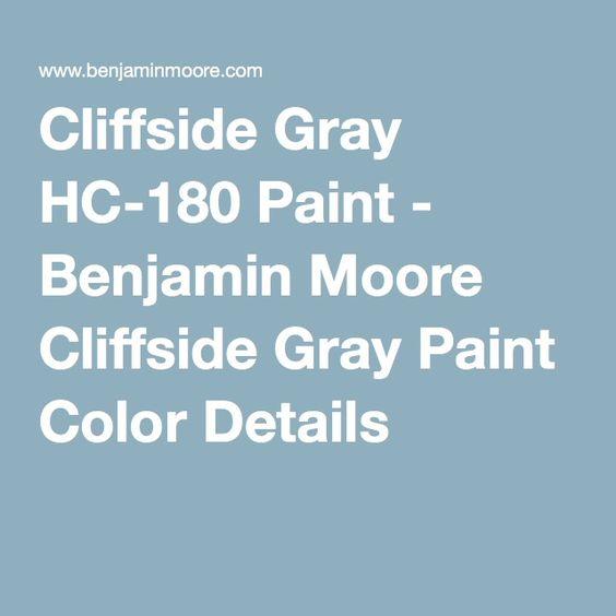 Covington Blue Hc 138 Benjamin Moore: Colors, Paint Colors And Paint On Pinterest