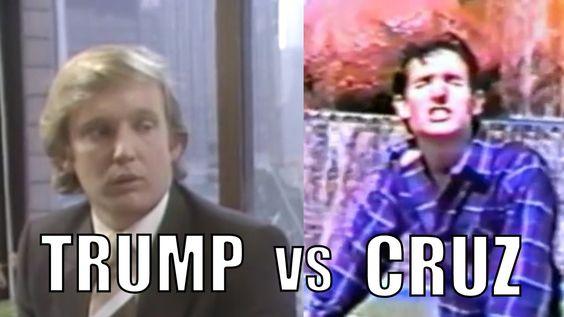 Young DONALD TRUMP  VS  Young LYIN` TED CRUZ