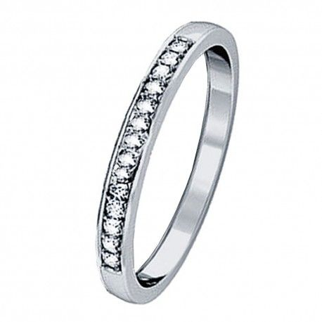 Women's AAA Cubic Zirconia Heart Cut Sterling Silver Engagement Wedding Ring Band
