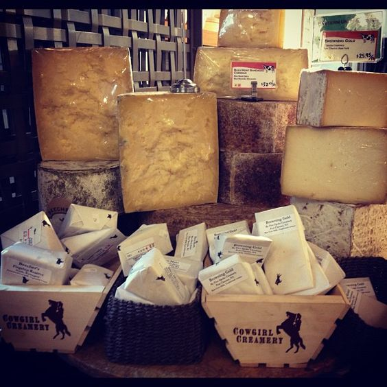 Cowgirl Creamery's Artisan Cheese Shop