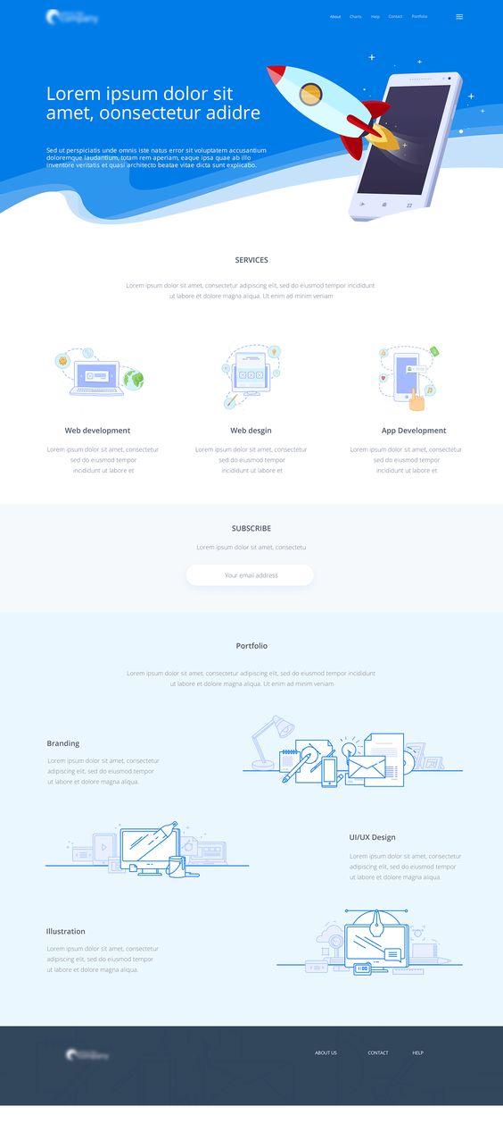 Website on Behance