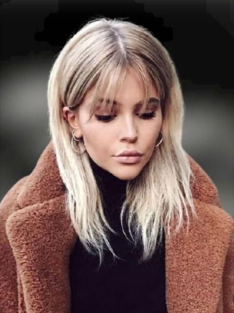 20 Cool Long Hairstyles With Bangs For 2021 In 2020 Long Hair With Bangs Long Bob Hairstyles Hair Styles
