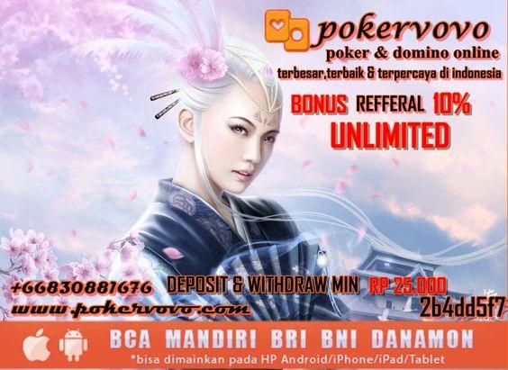 domino poker online bca