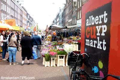 Uno de los mercadillos más populares de Amsterdam.