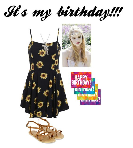 """Today is my birthday!!!!!"" by hannahisawesome5 ❤ liked on Polyvore featuring Monsoon, La Preciosa and notNeutral"
