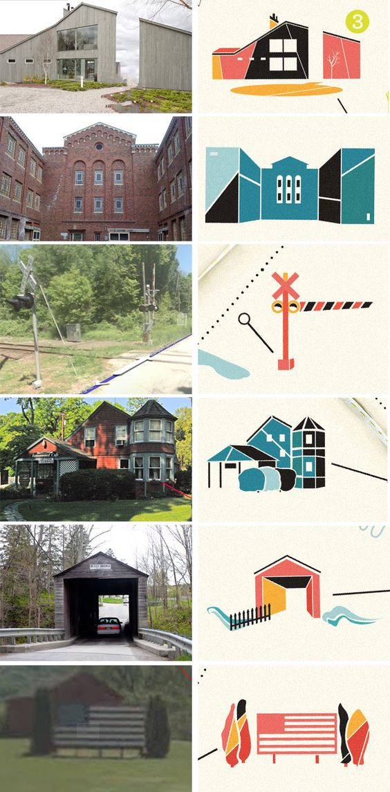 From photo to illustration // Kelli Anderson