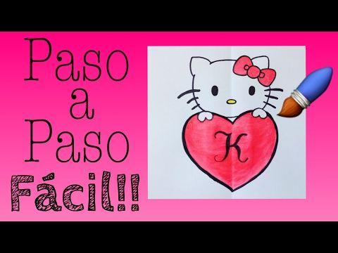 Como Dibujar A Hello Kitty Paso A Paso Facil How Draw Hello Kitty Youtube Hello Kitty Como Dibujar Aprender A Dibujar