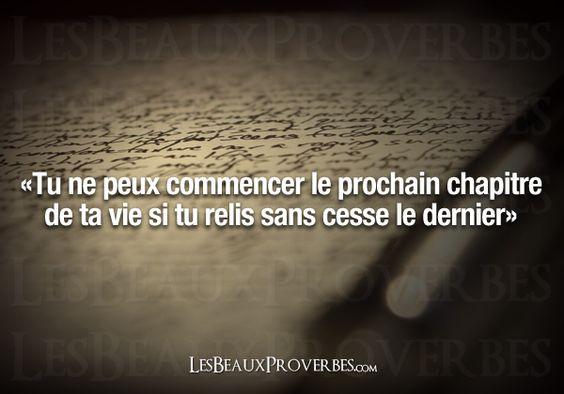 Les Beaux Proverbes – Proverbes, citations et pensées positives » Le prochain chapitre: