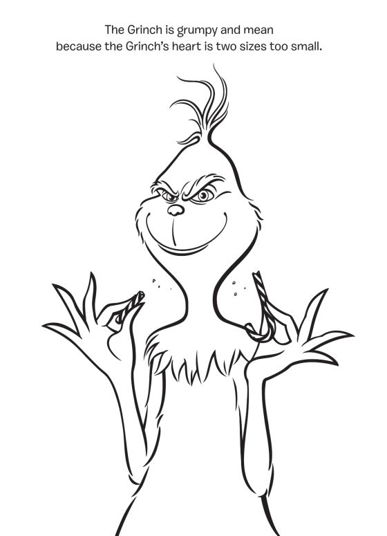 The Heart Of A Who Rachel Chlebowski Illustrated By Fabio Laguna Random House Children S Books Grinch Coloring Pages Grinch Drawing Xmas Drawing