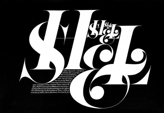 Herb Lubalin — a new Unit Editions publication - Creative Journal
