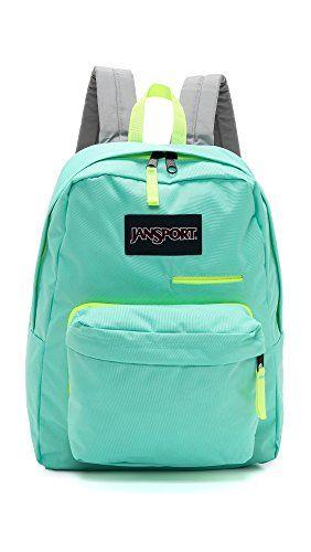 Jansport Overexposed Backpack Aqua Dash Yellow