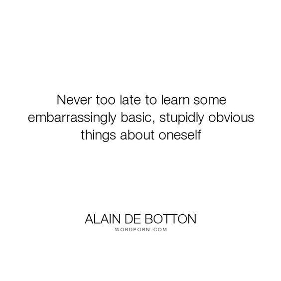 Alain de Botton: