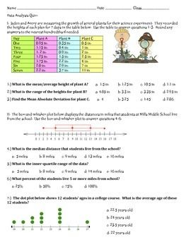 Printables Mean Absolute Deviation Worksheet mean absolute deviation mad can turn even the biggest math choice quiz that assesses students understanding of measures center and median variance range m