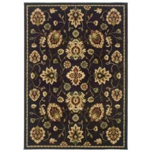 Oriental Weavers Delray Cambridge Brown 7 ft. 10 in. x 10 ft. Area Rug  on  Daily Rug Deals