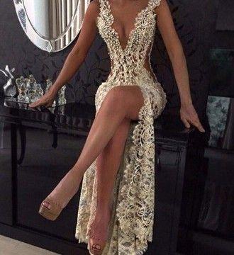 dress white dress silver long dress prom dress wedding dress diamonds sexy dresses prom sexy dress gold