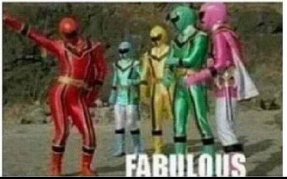 Seriously the power rangers used to be my life when I was little