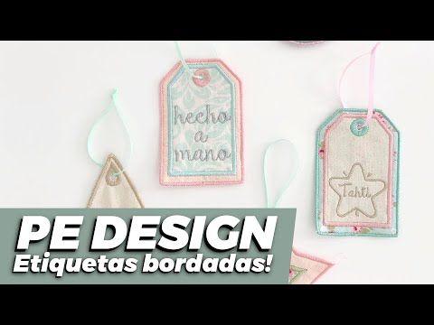 Etiquetas Bordadas Tutorial Pe Design Y Bordadora Brother Espanol Youtube Bordadora Pe Design Bordado A Maquina Gratis