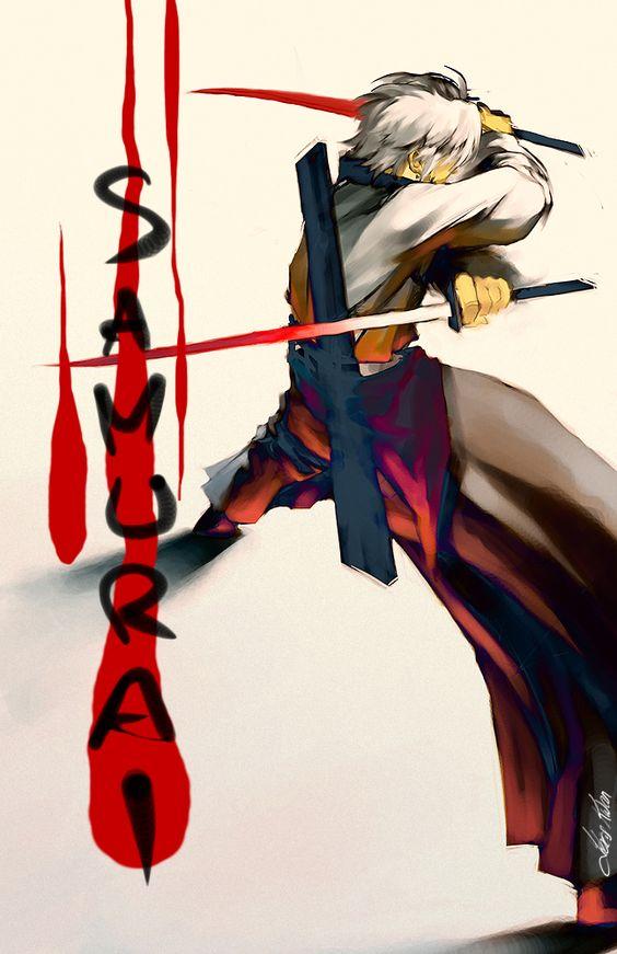 samurai guy by tobiee on deviantART