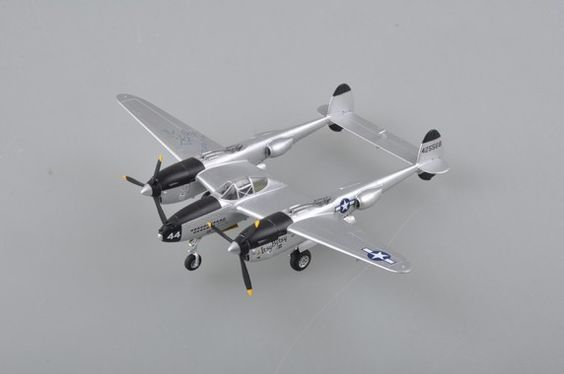 """1:72 P-38 - Assembled and painted models - Military scale model kits - Modelling 