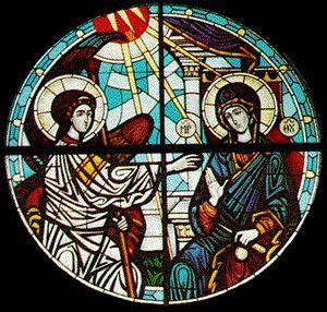 Vidriera de la Catedral de Columbus (USA)