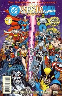 DC vs. Marvel 1 2 3 4 complete set---> shipping is $0.01!!!
