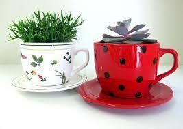 Resultado de imagem para vaso decorado cacto