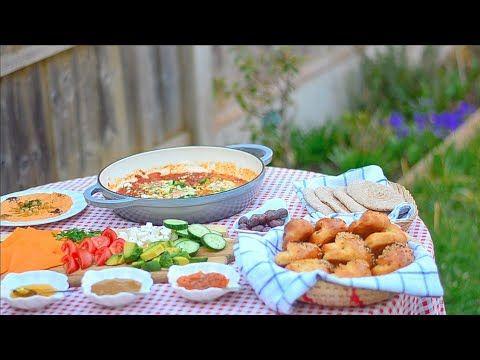 فطور صباحي بسيط بالحديقة Youtube Breakfast Homemade Bakery