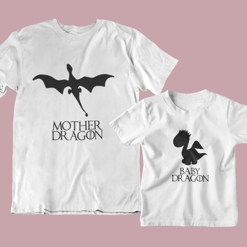 Happy Mothers Day T-Shirt Mother Of Dragons Game Of Thrones Gift Shirt Present