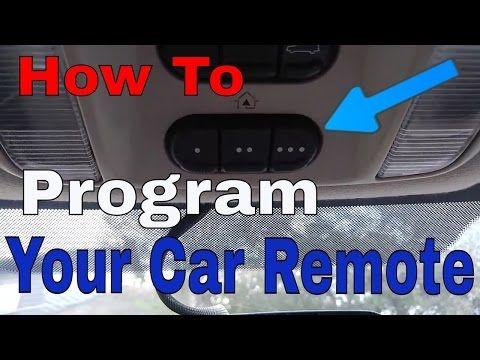 Set Up Your Car Homelink To The Garage Door Youtube Garage Doors Garage Door Panels Opening Car
