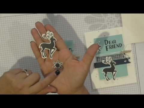 You Deerly Card Tutorial