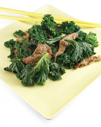 "See the ""Ginger Beef and Kale"" in our Healthy Kale Recipes gallery"