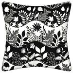 Good Day Decorative Pillow-Black and White