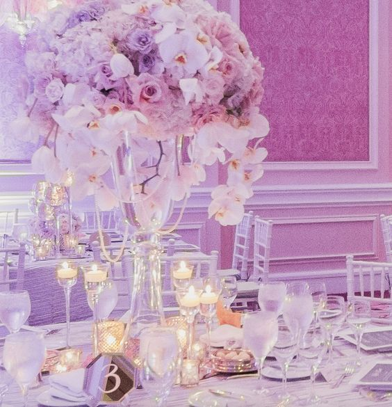 Featured Photographer: Iris and Light; Elegant winter ballroom wedding reception