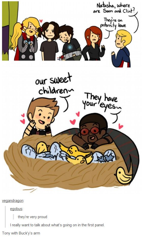 Bucky and Thors hair ties.